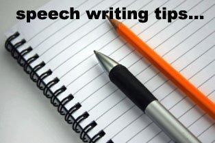 Speech writing training