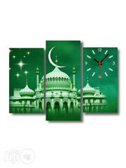 Mecca Mosque Design Canvas Wall Art CP027 3 Piece | Arts and Crafts for sale in Alimosho