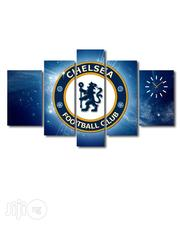 Chelsea Football Club Design Canvas Wall Art CP004 5 Piece | Arts and Crafts for sale in Alimosho
