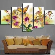 Butterflies Design Canvas Wall Art 5 Piece CP049 | Arts and Crafts for sale in Alimosho