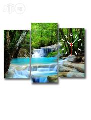 Waterfall Design Canvas Wall ART CP022 3 Pieces | Arts and Crafts for sale in Alimosho