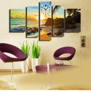 Sun Rise Design Canvas Waall Art CP051 5 Pieces | Home Accessories for sale in Alimosho