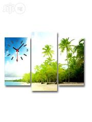 Whispering Palms Design Canwas Wall ART CP028 3 Pieces | Arts and Crafts for sale in Alimosho