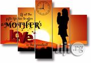 MOTHERS LOVE CANVAS WALL ART CP039 5piece | Arts and Crafts for sale in Alimosho