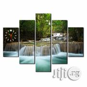 WATERFALL CANVAS WALL ART CP048 5piece | Arts and Crafts for sale in Alimosho