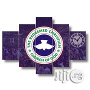RCCG LOGO CANVAS WALL ART VWOO1 5piece | Arts and Crafts for sale in Alimosho