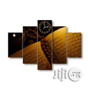 Quran & Tesbir Canwas Wall ART QTOO1 5piece | Arts and Crafts for sale in Alimosho