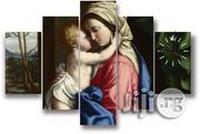 Blessed Virgin Mary Canvas Wall Art Cp072 5Piece | Arts and Crafts for sale in Alimosho