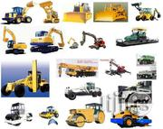 List Of Construction Equipments Available For Lease And Rent | Automotive Services for sale in Alimosho