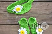 Crochet Baby Sandal And Face Cap | Babies and Kids Accessories for sale in Alimosho