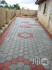 Concrete Stamp Floor Finish   Landscaping and Gardening services for sale in Lagos