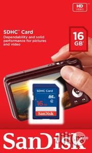 Sandisk SDHC Memory Card 16Gb   Accessories for Mobile Phones and Tablets for sale in Lagos