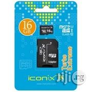 Iconix Microsd Card - 16 Gb | Accessories for Mobile Phones and Tablets for sale in Lagos
