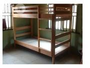 Kids Wooden Bunk Bed Akala Finish | Children's Furniture for sale in Ikeja