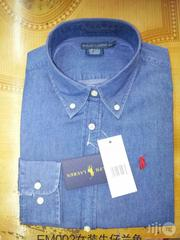 Polo Ralph Denim Shirt | Clothing for sale in Ikoyi