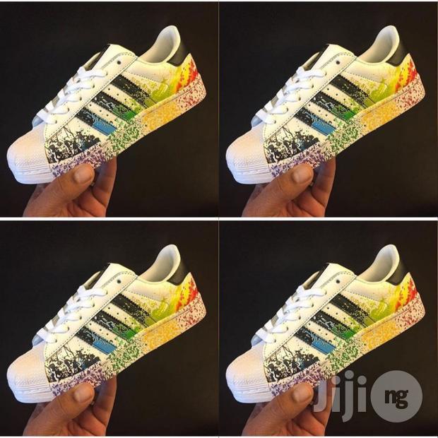 Adidas Superstar Paint Splash Stripes,Adidas Superstar Color