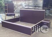 6x6 H.D.F. Bed | Furniture for sale in Edo