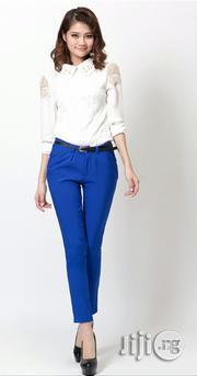 Ladies Pants Trousers - Blue | Clothing for sale in Ayobo/Ipaja