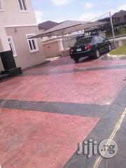 Concrete Floor Stamp And Interlock | Landscaping and Gardening services for sale in Lekki