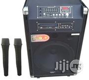Rechargeable Speaker With DVD And Two Microphones | Audio and Music Equipment for sale in Ikoyi