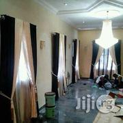 Cream And Black Curtain | Home Accessories for sale in Ikoyi
