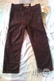 Carters Chocolate Brown Corduroy | Children's Clothing for sale in Alimosho