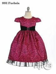 Crayon Kids Pink/Black Party Dress | Children's Clothing for sale in Alimosho